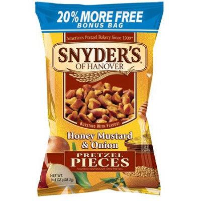 Snyder's-lance, Inc Snyder's of Hanover Honey Mustard & Onion Pretzel Pieces, 14.4 oz