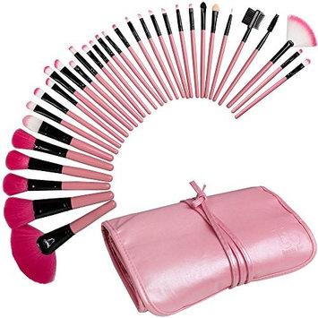 Best Professional Makeup Brushes Set - 24 Pc Cosmetic Foundation Make up Kit - Beauty Blending for Powder & Cream - Bronzer Concealer Contour Brush - Beauty Bon