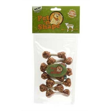 Pet 'n Shape Lamb 'n Rice Dumbbells Dog Treats, 3 Ounce