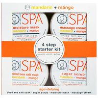 Petal Fresh, Spa, 4 Step Starter Kit, Age Defying, Mandarin + Mango, 4 - 3 fl oz (85 ml) Each [Scent : Mandarin + Mango]