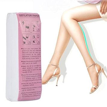 Waxing Paper, 100Sheets/Bag Leg Arm Armpit Hair Removal Depilatory Nonwoven Epilator Waxing Strip Paper