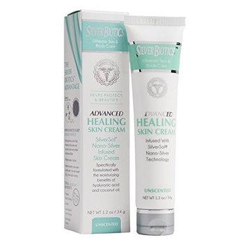American Biotech Labs Silver Biotics Advanced Healing Skin Cream Unscented 1.2oz [Unscented]