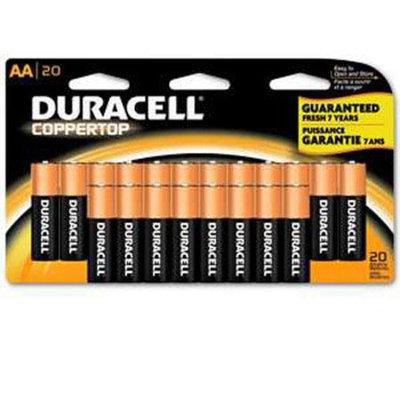 Duracell CopperTop AA Alkaline Batteries, 20 Count [AA]