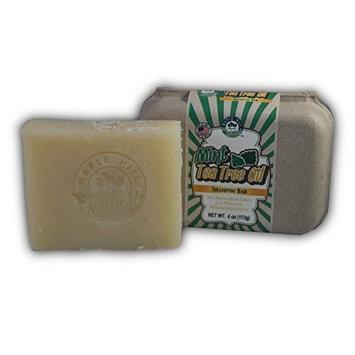 Maple Hill Naturals: Shampoo Bar (Coconut Oil, Hemp Seed Butter, Shea Butter, Avocado Oil, Jojoba Oil) (Mint Tea Tree Oil)