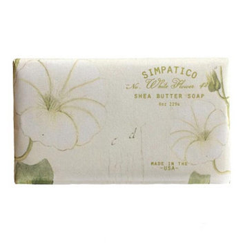 Simpatico Shea Butter Bar Soap 8 Oz. - White Flower 42