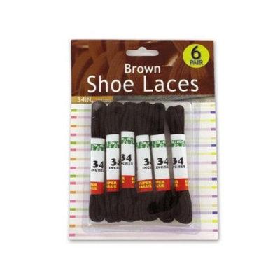Brown Shoe Laces Case Pack 12