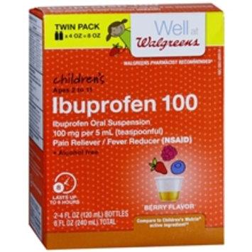 Walgreens Children's Pain Relief Suspension Liquid 2 Pack Grape