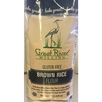 Great River Milling Gluten Free Brown Rice Flour [Brown]