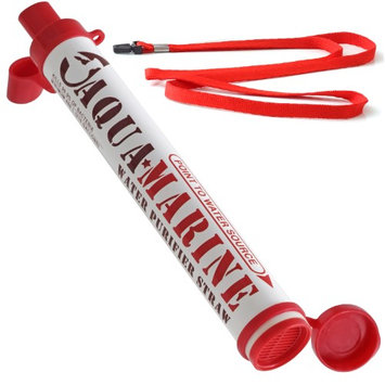 Aqua Marine Portable Personal Survival Water Purifier Filter Straw from OxGord