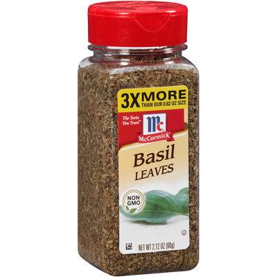 McCormick® Basil Leaves 2.12 oz. Shaker