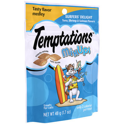 Temptations® MixUps Surfers' Delight Cat Treats 1.7 oz. Pouch