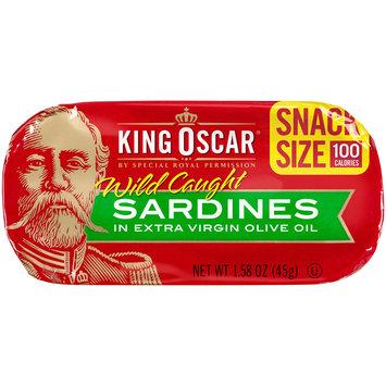 King Oscar® Wild Caught Sardines in Extra Virgin Olive Oil 1.58 oz. Tin