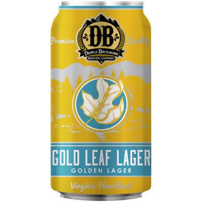 Devils Backbone Gold Leaf Lager Golden Lager 12 fl. oz. Can