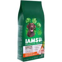 Iams™ ProActive Health™ Sensitive Skin & Stomach with Real Chicken & Peas Adult Super Premium Dog Food 4.4 lb. Bag
