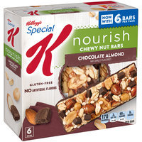 Kellogg's® Special K Nourish® Chocolate Almond Chewy Nut Bars 6-1.16 oz. Bars
