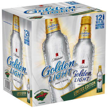 Michelob Golden Light® Beer 12-16 fl. oz. Aluminum Bottles