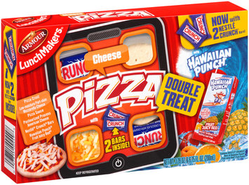 Armour® LunchMakers® Cheese Pizza 3.28 oz. Tray with Hawaiian Punch Fruit Juicy Red Juice Drink 6.75 fl. oz. Carton