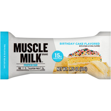 Muscle Milk® Birthday Cake Flavored Protein Bar 1.76 oz. Wrapper