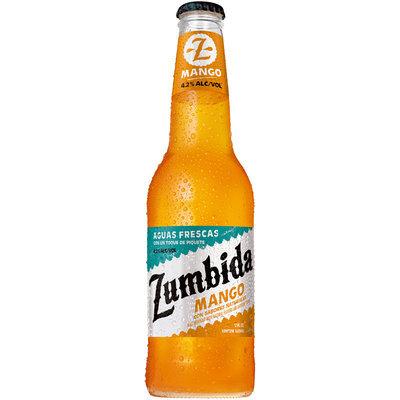 Zumbida Mango Aguas Frescas 12 fl. oz. Glass Bottle