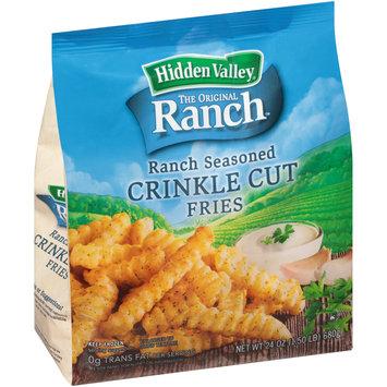 Hidden Valley® The Original Ranch™ Ranch Seasoned Crinkle Cut Fries 24 oz. Bag