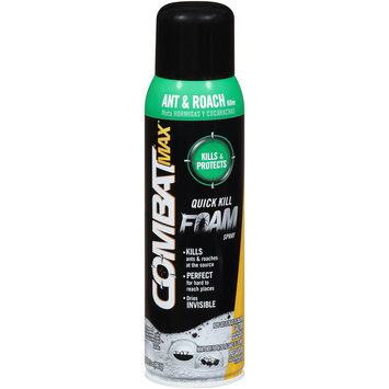 Combat® Max™ Quick Kill Foam Spray 17.5 oz. Aerosol Can
