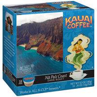 Kauai Coffee® Na Pali Coast Dark Roast Single Serve Coffee 18-0.35 oz. Pods