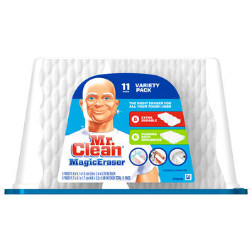 Mr. Clean® Magic Eraser Variety Pack Household Cleaning Pads 11 pc Plastic Container