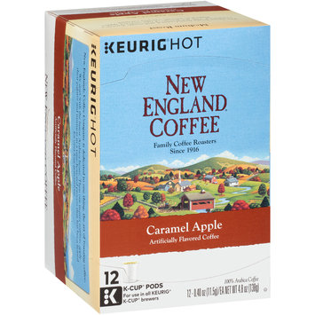 New England® Coffee Caramel Apple Coffee K-Cup® Pods12-0.40 oz. Cups