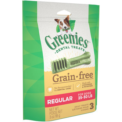 Greenies™ Regular Grain-Free Daily Dental Dog Treats 3 ct