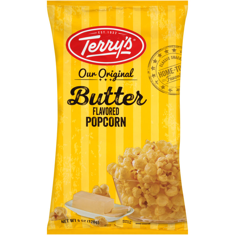 terry's® our original butter flavored popcorn