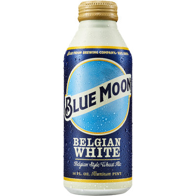 Blue Moon® Belgian White Ale 16 fl. oz. Aluminum Bottle
