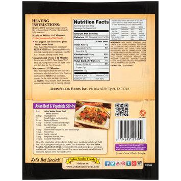 John Soules Foods® Beef Steak 6 oz. Bag