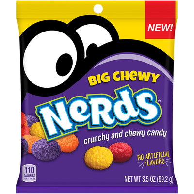 NERDS Big Chewy Candy 3.5 oz. Bag