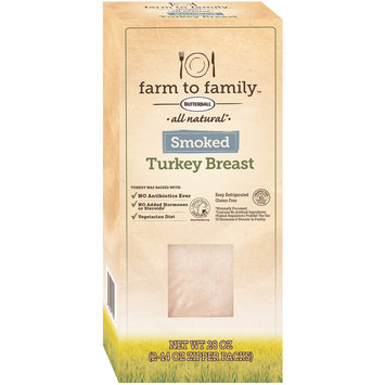 Butterball® Farm to Family™ All Natural Smoked Turkey Breast 28 oz. Box