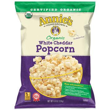 Annie's® Organic White Cheddar Popcorn 4.4 oz. Bag