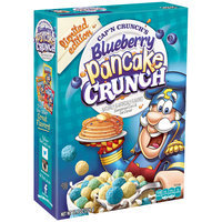 Cap'n Crunch's Blueberry Pancake Crunch™ Sweetened Corn & Oat Cereal 11.4 oz. Box