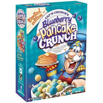 Cap'n Crunch's Blueberry Pancake Crunch™ Sweetened Corn & Oat Cereal 11.4 oz. Box