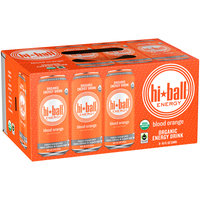 Hi-Ball® Energy Blood Orange Organic Energy Drink 8-16 fl. oz. Can