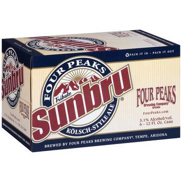 Four Peaks Brewing Company® Sunbru® Tribute Kolsch-Style Ale 6-12 fl. oz. Cans