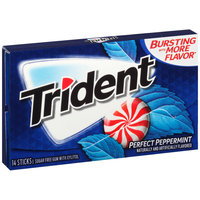 Trident Perfect Peppermint Sugar Free Gum with Xylitol 14 ct Pack