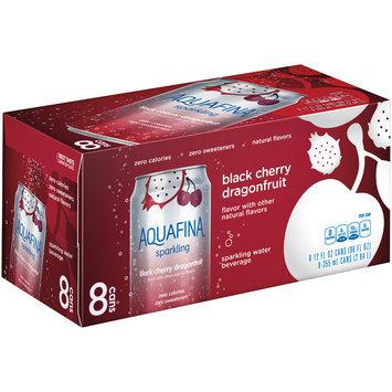 Aquafina® Sparkling Black Cherry Dragonfruit Water Beverage 8-12 fl. oz. Cans
