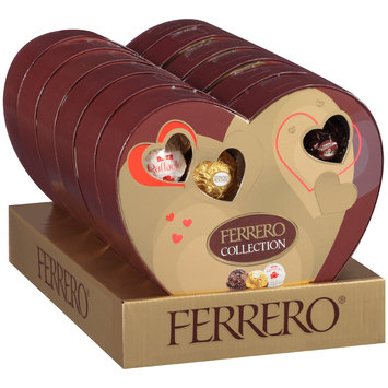 Ferrero Collection Fine Assorted Confections Display