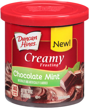 Duncan Hines® Creamy Chocolate Mint Frosting 16 oz. Tub