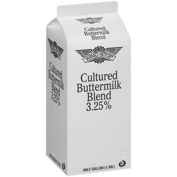 Wing Stop® Cultured Buttermilk Blend 3.25% .5 gal. Carton