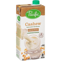 Pacific® Original Unsweetened Cashew Non-Dairy Beverage 32 fl. oz. Aseptic Carton