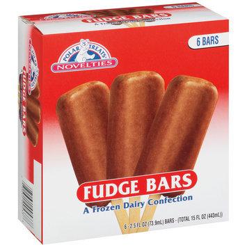 Polar Treats® Novelties Fudge Bars 6-2.5 fl. oz. Bars