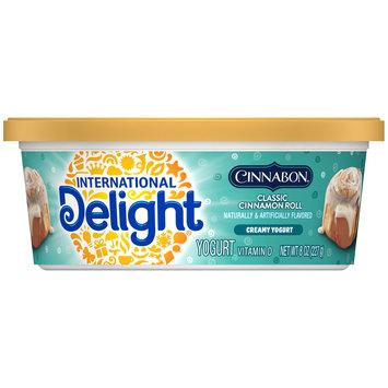 International Delight Cinnabon Classic Cinnamon Roll Creamy Yogurt Cup