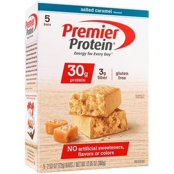 Premier Protein® Salted Caramel High Protein Bar 5-2.53 oz. Bars