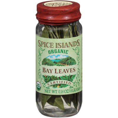 Spice Islands® Organic Bay Leaves 0.14 oz. Jar