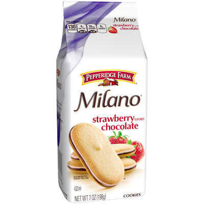 Pepperidge Farm® Milano® Strawberry Chocolate Cookies 7 oz. Bag